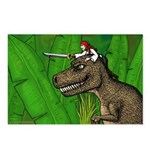 T-Rex & EmaPirate - Postcards (Package of 8)