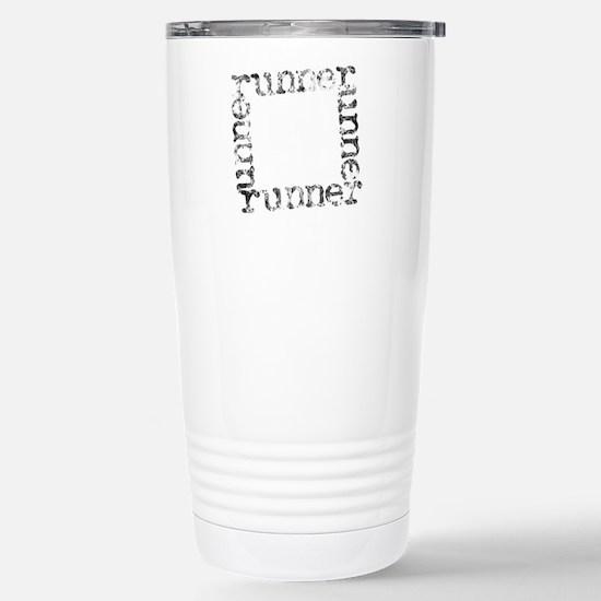 runner Stainless Steel Travel Mug