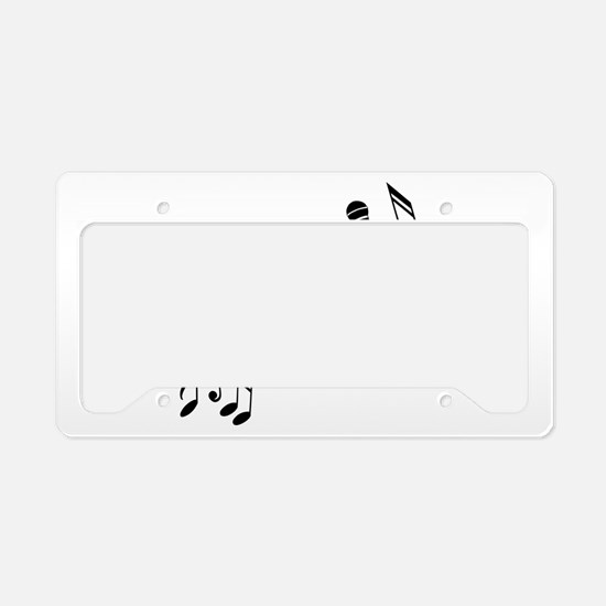 New Section License Plate Holder