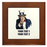 Humor Framed Tiles