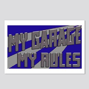 My Garage, My Rules Postcards (Package of 8)