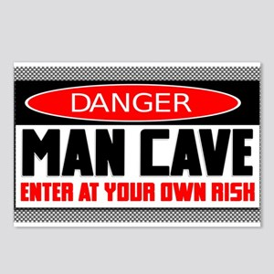 Danger Man Cave Postcards (Package of 8)