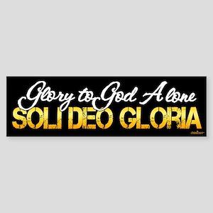 Soli Deo Gloria Sticker (Bumper)
