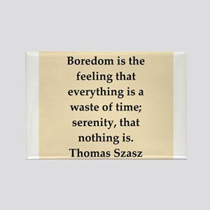 Thomas Szasz quote Rectangle Magnet