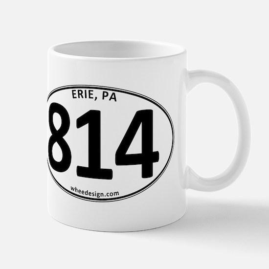 Erie, PA 814 Mug
