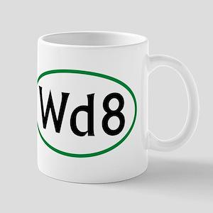 Wd8 Round Logo Mug