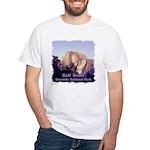 Half Dome at Sunset t-shirt--white