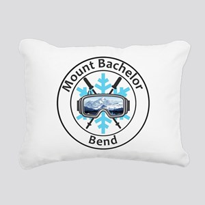 Mount Bachelor - Bend Rectangular Canvas Pillow