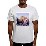 Half Dome at Sunset t-shirt--ash grey