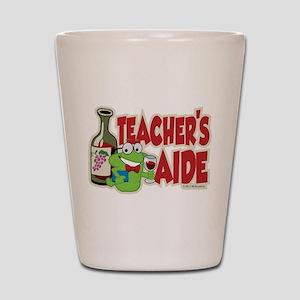 Teacher's Aide (Wine) Shot Glass