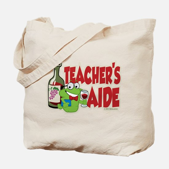 Teacher's Aide (Wine) Tote Bag