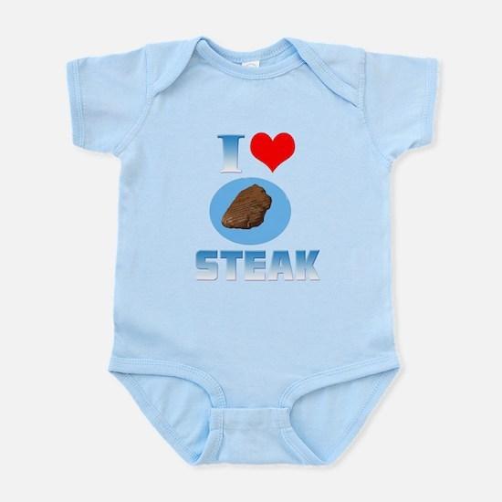 I heart Steak Infant Bodysuit