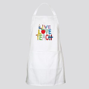 Live Love Teach Apron
