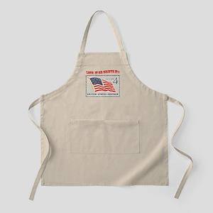 Love America BBQ Apron