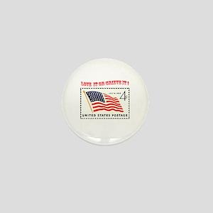 Love America Mini Button