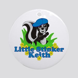 Little Stinker Keith Ornament (Round)