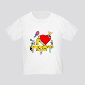 I Heart Schoolhouse Rock! Toddler T-Shirt