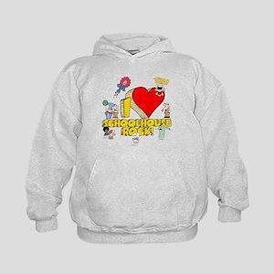 I Heart Schoolhouse Rock! Kids Hoodie