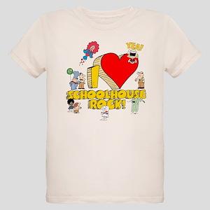 I Heart Schoolhouse Rock! Organic Kids T-Shirt