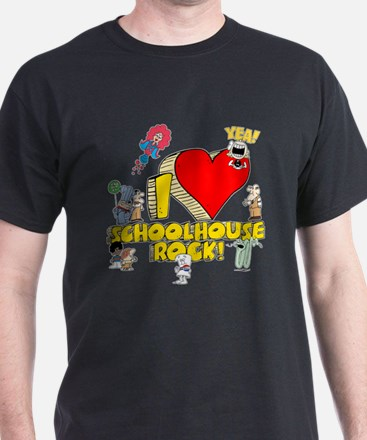 I Heart Schoolhouse Rock! T-Shirt
