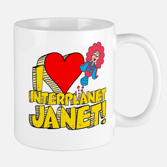 I Heart Interplanet Janet! Mug
