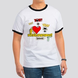 I Heart Interjections Ringer T