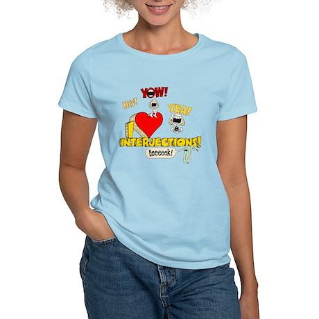 I Heart Interjections Women's Light T-Shirt