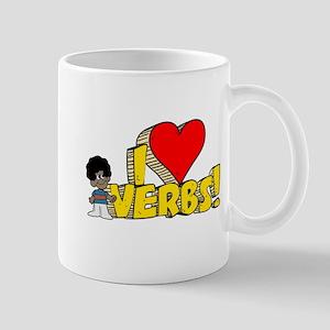 I Heart Verbs - Schoolhouse Rock! Mug
