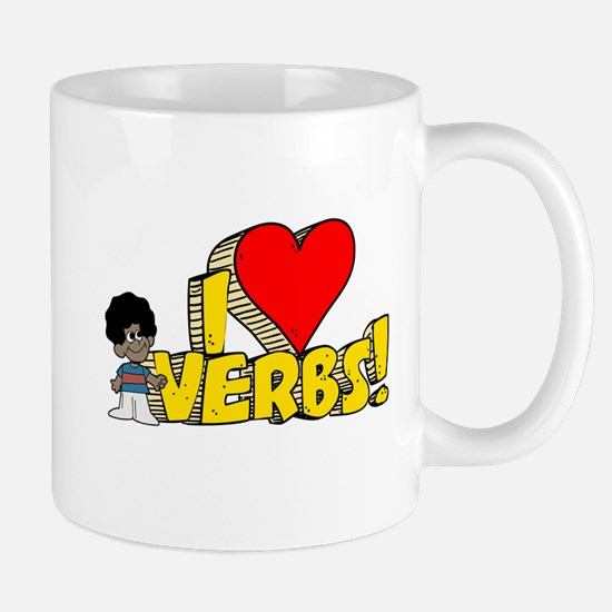 I Heart Verbs - Schoolhouse Rock! Mug