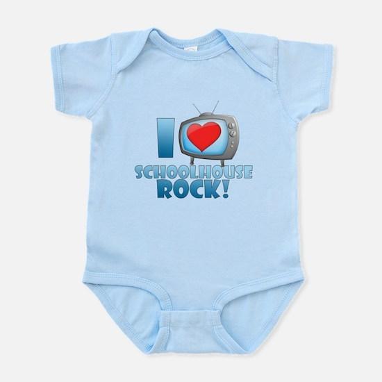 I Heart Schoolhouse Rock Infant Bodysuit