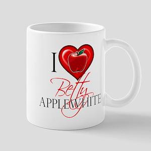 I Heart Betty Applewhite Mug