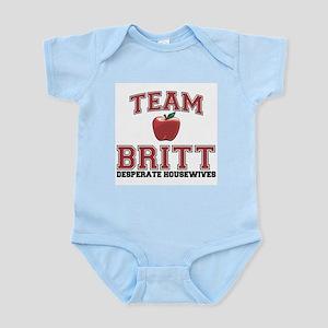 Team Britt Infant Bodysuit