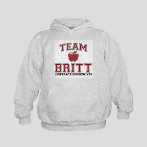Team Britt Kids Hoodie