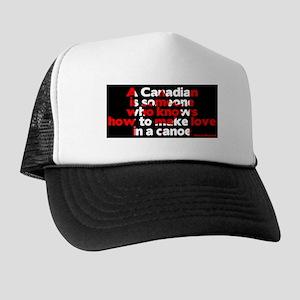 Canadians make love in Canoe Trucker Hat