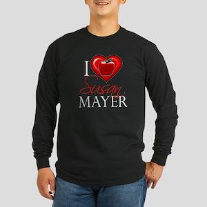 I Heart Susan Mayer Long Sleeve Dark T-Shirt