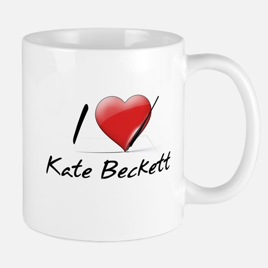 I Heart Kate Beckett Mug
