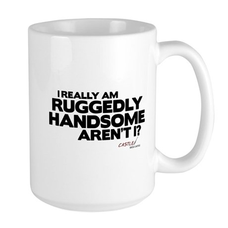 Ruggedly Handsome Large Mug