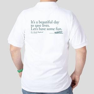 Save some lives. - Grey's Anatomy Golf Shirt
