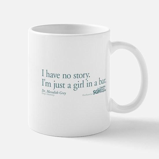 Girl in a Bar - Grey's Anatomy Quote Mug