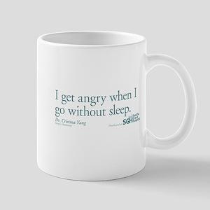 I get tired... - Grey's Anatomy Mug