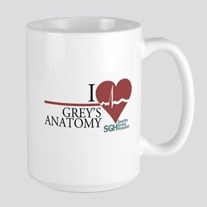 I Heart Grey's Anatomy Large Mug