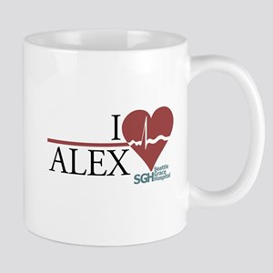 I Heart Alex - Grey's Anatomy Mug