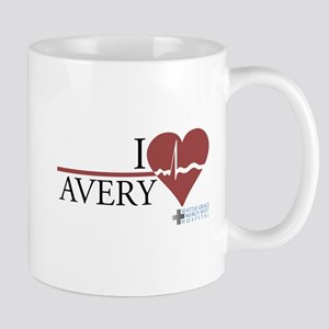 I Heart Avery - Grey's Anatomy Mug