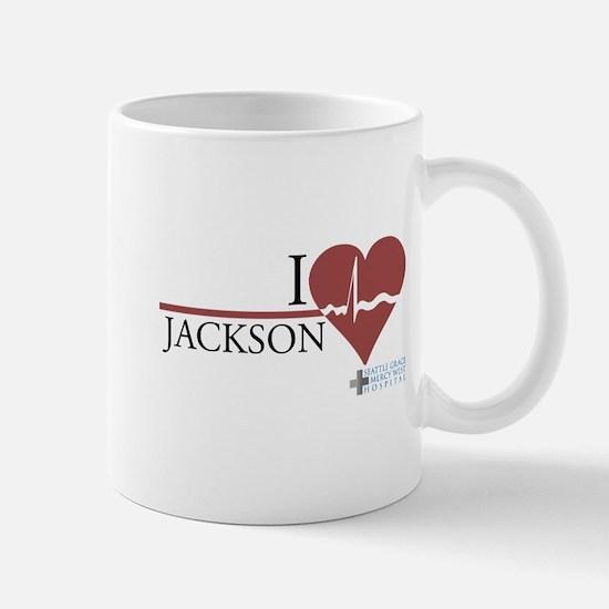 I Heart Jackson - Grey's Anatomy Mug