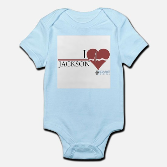 I Heart Jackson - Grey's Anatomy Infant Bodysuit