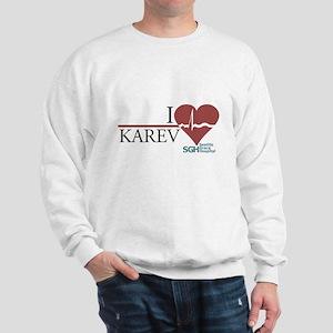 I Heart Karev Sweatshirt