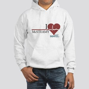 I Heart McSTEAMY - Grey's Anatomy Hooded Sweatshir