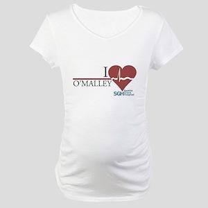 I Heart O'Malley - Grey's Anatomy Maternity T-Shir