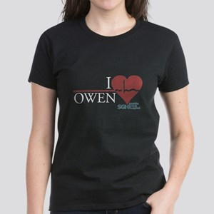I Heart Owen - Grey's Anatomy Women's Dark T-Shirt