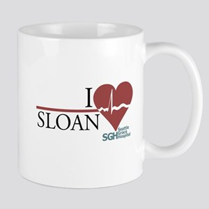 I Heart Sloan - Grey's Anatomy Mug